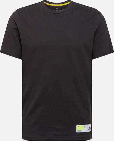 ADIDAS PERFORMANCE Sportshirt 'TECH GRADE' in gelb / schwarz, Produktansicht