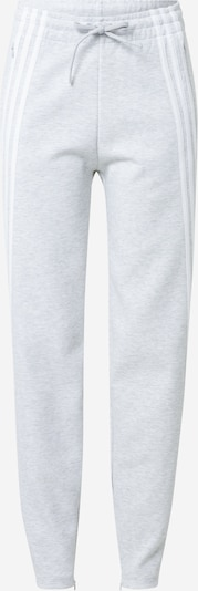 ADIDAS PERFORMANCE Sports trousers in grey / white, Item view