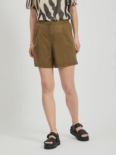 VILA Shorts in grün, Modelansicht