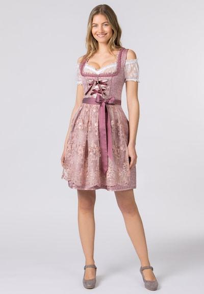 STOCKERPOINT Dirndl in de kleur Pink / Rosa / Wit, Modelweergave