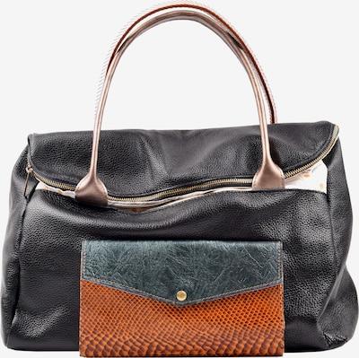 ebarrito Weekendtas 'SHADOWS BAG' in de kleur Bruin / Zwart, Productweergave