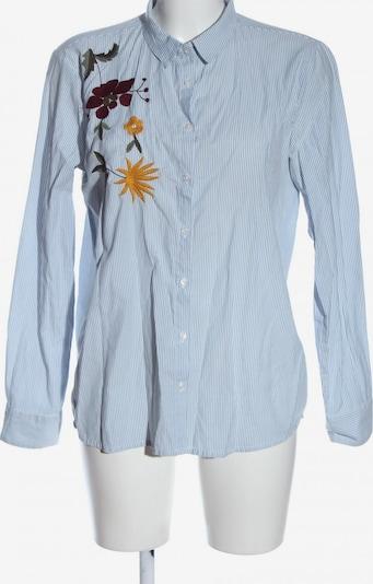 b.young Langarmhemd in M in blau / weiß, Produktansicht