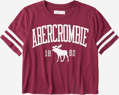 Abercrombie & Fitch Shirt 'SHINE SPORTY TEE' in rotviolett, Produktansicht
