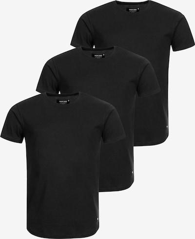 INDICODE JEANS T-Shirt 'Mosley' in schwarz: Frontalansicht