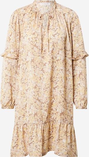 Palaidinės tipo suknelė iš rosemunde , spalva - smėlio / kupranugario / balta, Prekių apžvalga