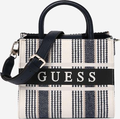 GUESS Tasche 'MONIQUE' in beige / blau / weiß, Produktansicht