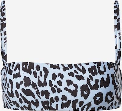 ONLY Bikinitop 'OLLI' in azur / schwarz, Produktansicht