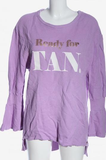 Cotton Candy Sweatshirt in M in gold / lila / weiß, Produktansicht