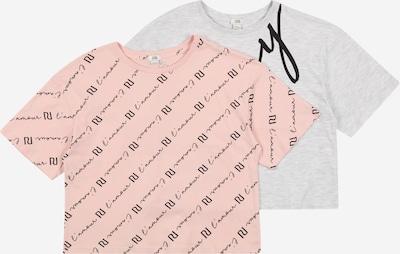 River Island Shirt 'SASSY' in graumeliert / pink / schwarz, Produktansicht
