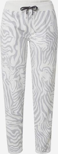 Key Largo Pantalon en argent / blanc, Vue avec produit
