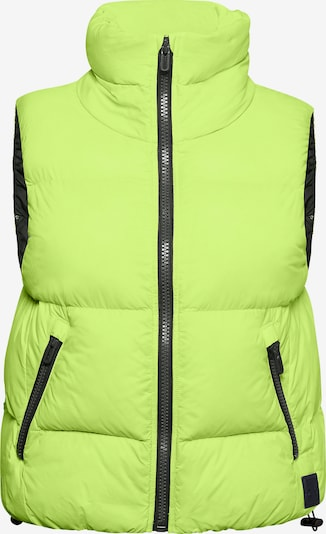 UNDER ARMOUR Sportbodywarmer in de kleur Limoen / Zwart, Productweergave