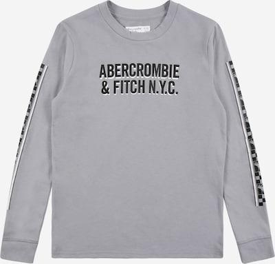 Abercrombie & Fitch Shirt in grau / schwarz / weiß, Produktansicht