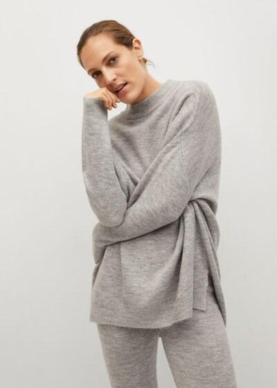 MANGO Pullover 'Gegant' in grau, Modelansicht