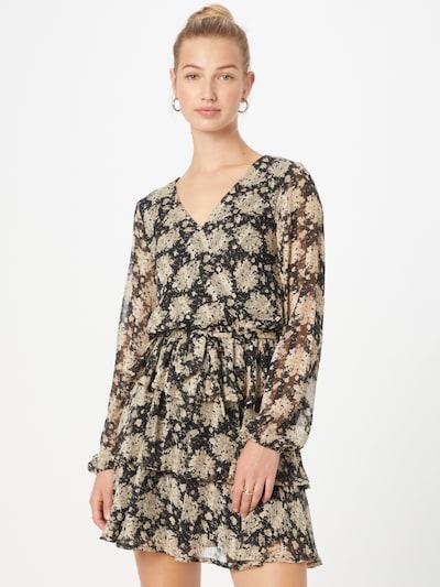 SISTERS POINT Kleid 'NAPPA' in kitt / puder / schwarz, Modelansicht