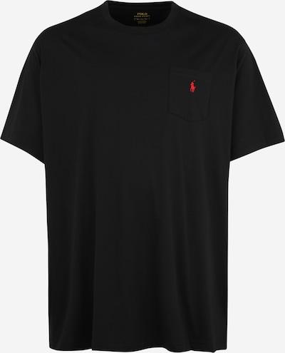 Polo Ralph Lauren Big & Tall T-Shirt in rot / schwarz, Produktansicht
