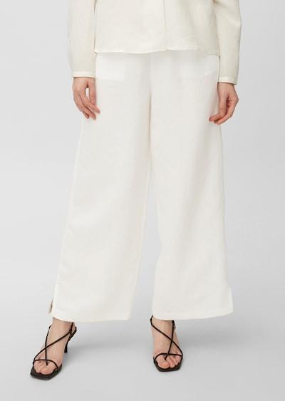 Marc O'Polo Pure Hose in weiß, Modelansicht