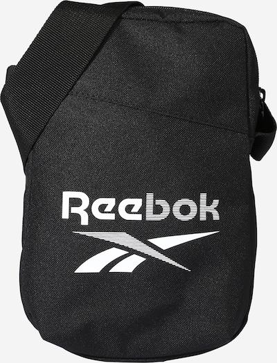 REEBOK Bolsa de deporte en negro / blanco, Vista del producto