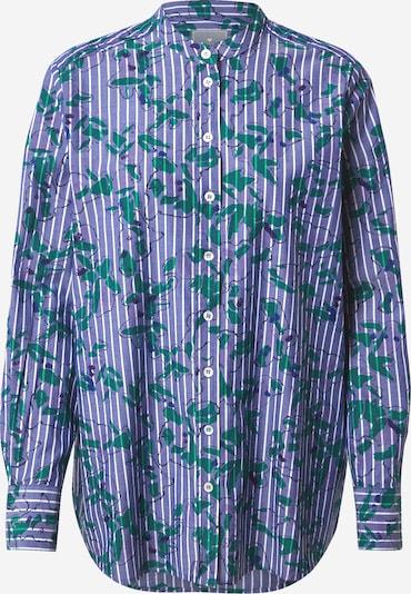 Palaidinė 'Remy' iš LIEBLINGSSTÜCK , spalva - mėlyna / tamsiai mėlyna / žalia / balta: Vaizdas iš priekio