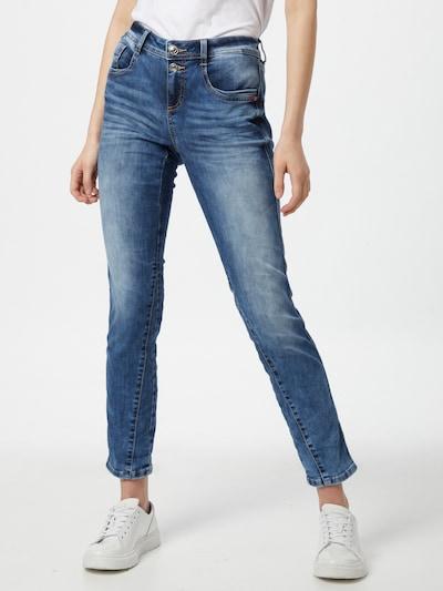 STREET ONE Jeans in blue denim, Modelansicht