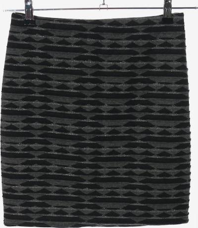 JOACHIM BOSSE Minirock in S in hellgrau / schwarz, Produktansicht