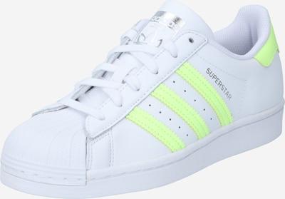 Sneaker bassa 'Superstar' ADIDAS ORIGINALS di colore giallo neon / bianco, Visualizzazione prodotti