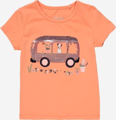 STACCATO Camiseta en oro rosa / mezcla de colores / naranja claro / negro / blanco, Vista del producto