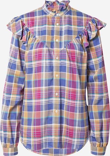 Polo Ralph Lauren Μπλούζα σε μπλε / σκούρο κίτρινο / ροζ, Άποψη προϊόντος