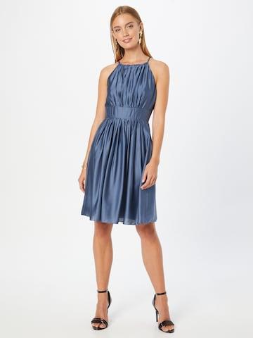 SWING Cocktailjurk in Blauw