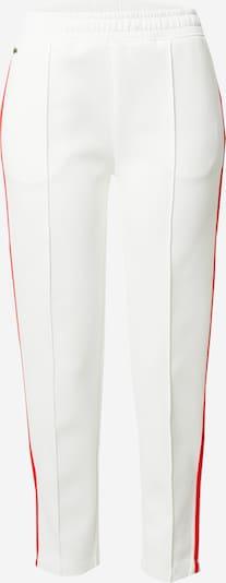 LACOSTE Pantalon en rouge / blanc, Vue avec produit