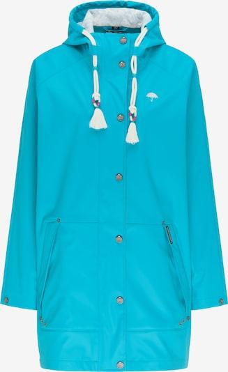 Schmuddelwedda Regenparka in blau / türkis, Produktansicht