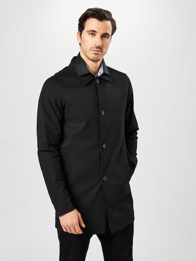 JACK & JONES Płaszcz przejściowy w kolorze czarnym, Podgląd na modelu(-ce)