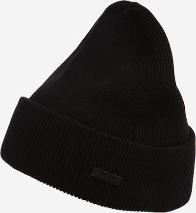 BOSS Cepure 'Nautico', krāsa - melns, Preces skats