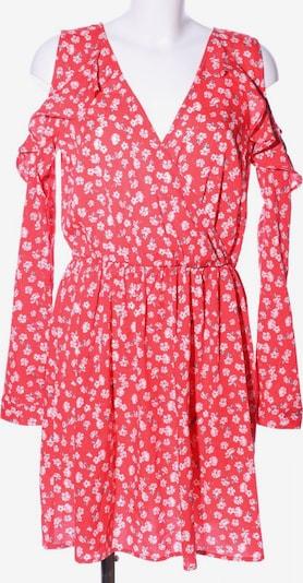 Influence schulterfreies Kleid in L in rot / weiß, Produktansicht