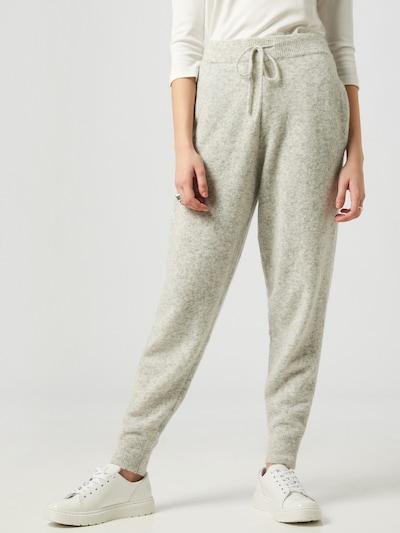 LeGer by Lena Gercke Pantalon 'Lene' en gris chiné, Vue avec modèle