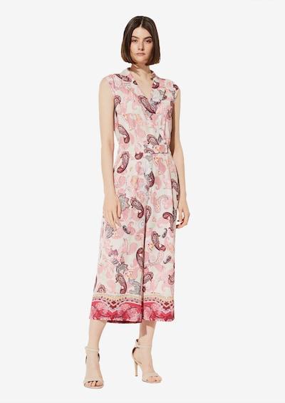 COMMA Jumpsuit in mischfarben / pink, Modelansicht