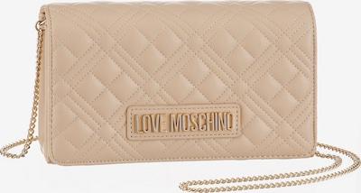 Love Moschino Clutch in hellbeige, Produktansicht