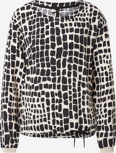 Key Largo Bluse 'STONE' in beige / schwarz, Produktansicht