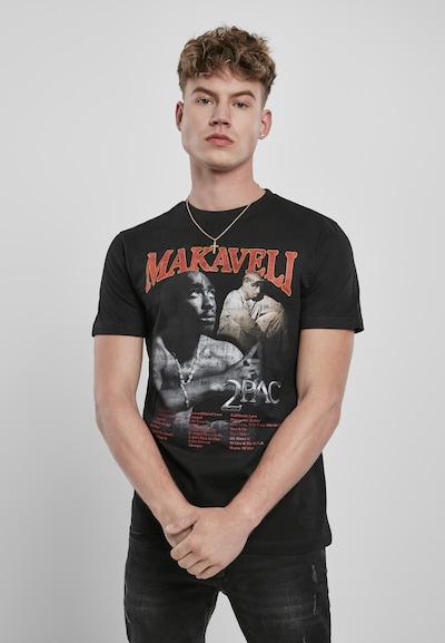 Mister Tee Shirt in schwarz: Frontalansicht