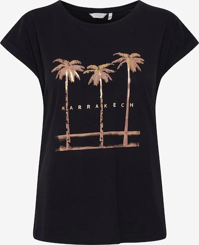 b.young T-Shirt mit Print in schwarz, Produktansicht