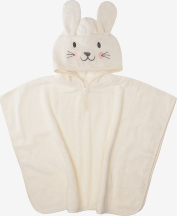 LILIPUT Bathrobe 'Hase' in White