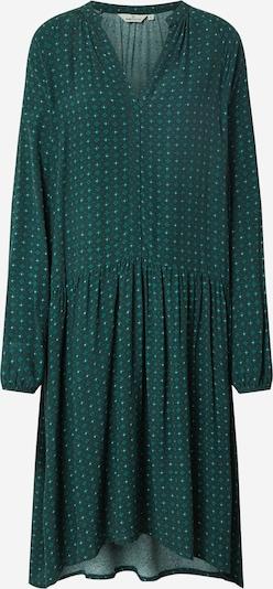 basic apparel Haljina 'Debbie' u boja pijeska / tamno zelena, Pregled proizvoda