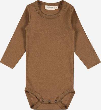 Lil ' Atelier Kids Barboteuse / body 'GAYA' en marron, Vue avec produit