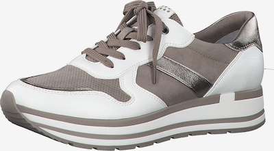 MARCO TOZZI Sneakers in Beige / White, Item view