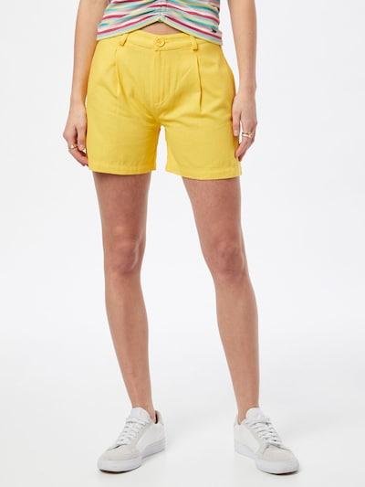 Pantaloni cutați 'WAZOME' LTB pe galben, Vizualizare model