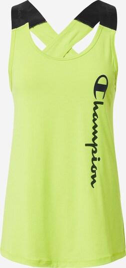 Champion Authentic Athletic Apparel Športni top | zelena / črna barva, Prikaz izdelka