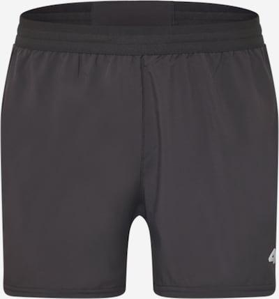 4F Sportbroek in de kleur Lichtgrijs / Zwart, Productweergave