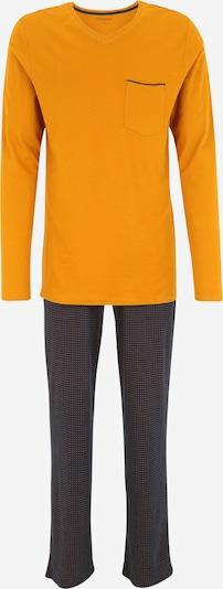 SCHIESSER Schlafanzug in navy / cognac, Produktansicht