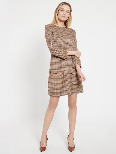 Ana Alcazar Kleid in braun, Modelansicht