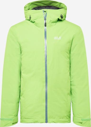 JACK WOLFSKIN Športna jakna | zelena barva, Prikaz izdelka