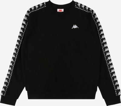 KAPPA Sweatshirt 'ILARY' in schwarz / weiß, Produktansicht